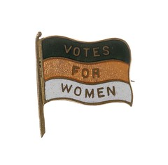 Women's Freedom League badge, c. 1907