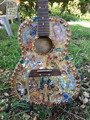 Mary Guitar (Elsieland Mosaics) Tags: mosaic mary mosaics tempered ourladyofguadalupe mosaicart temperedglass mosaicpictures mosaicartist elsieland elsiegaertner elsielandmosaics mosaicscorpuschristi elsiegaertnermosaicscorpuschristi