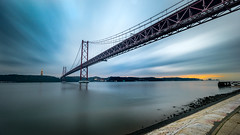 Ponte 25 de Abril - Lisbon, Portugal - Seascape, travel photography