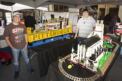 Steel City Lug, an Adult LEGO Users Group from Pittsburgh, displays some of their latest creations.