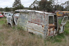 Ford Transit Mk 1 (jeremyg3030) Tags: cars ford abandoned yard rust transit van wrecking wreckers cooma flynns mk1