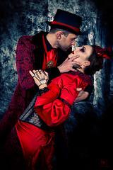A Kiss to Die for! (MissSmile) Tags: portrait halloween studio costume artistic memories style horror misssmile