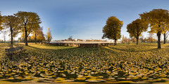 Herbst im Stadtpark (360 x 180) (diwan) Tags: city autumn trees light panorama fall leaves canon germany geotagged deutschland eos colours place stitch outdoor herbst roundabout magdeburg stadt bltter bume panoramix farben 360 2015 fotogruppe ptgui equirectangular saxonyanhalt sachsenanhalt rotehorn circularpatternrectified canoneos650d spivpano walimexprofisheye835 fotogruppemagdeburg geo:lon=11640670 geo:lat=52124974