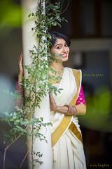 Think, that Kerala girls saree shame!