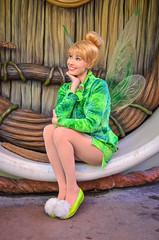 Tinkerbell (EverythingDisney) Tags: disneyland tinkerbell disney pixie fairy dlr pixiehollow