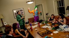 Behind the Scenes (zemekiss) Tags: batman joker gotham waynemanor arkham hycroft geekenders