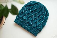 New hat knit with Malabrigo Mecha (sunnyknits) Tags: hat knitting handmade knit mecha handknitting malabrigo