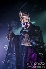 Ghost - Papa Emeritus III (FG Photo - fgphoto.eu) Tags: club photography concert ghost hard hardclub