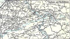 OLD MAPS 39 - 1916 (beranekp) Tags: old history germany deutschland czech map alt saxony eisenbahn railway karte sachsen 1916 teplice teplitz eleznice