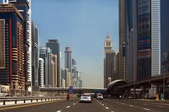 DUBAI: Highway (filippo.bonizzoni) Tags: photography photo highway dubai taxi united run ferrari emirates unitedarabemirates reportage emirati superstrada photoreportage emiratiarabi emiratiarabiuniti ferrariadubai