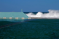 Newcastle baths Blocks (Tim J Keegan) Tags: storm pool newcastle waves baths huntervalley oceanbaths australiansw