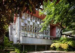 Wimberly Residence (Chimay Bleue) Tags: house home modern hawaii honolulu residence checkerboard manoa wimberly midcentury