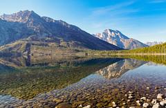 Jenny Lake, Grand Teton (MarkWarnes) Tags: lake mountains reflection water shore wyoming grandteton jacksonhole tetonrange grandtetonnationalpark jennylake