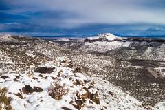 Rio Valley Snow (APGougePhotography) Tags: snow new mexico white rock nm nikon d800 nikond800 lightroom nik colorefexpro mountains rio grande valley