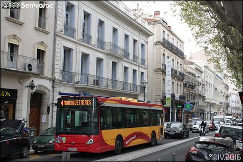 Heuliez Bus GX 127 L - Transdev Urbain / Béziers Méditerranée Transports