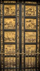 Portões do Paraíso (1492)- Batistério da Duomo (Denise Alvarez García) Tags: florença itália renascença italiana vista paisagens obras de arte porta do paraíso ghiberti santa maria dei fiori