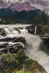 Athabasca Falls-Jasper National Park (Thaiexpat) Tags: 2016 canada falls water jasparpark power river sonya7r2 zeiss 18mm batis