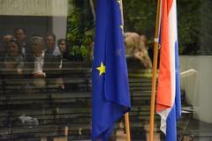 Statenexcursie Fryslân & Drenthe naar Brussel (pvdafryslanofficial) Tags: vlag flag europe europa nederland netherlands statenexcursie brussel provinciale staten fryslân drenthe brussels