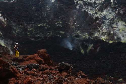 Inside of the Vulkan - Rabaul, Papua Neuguinea