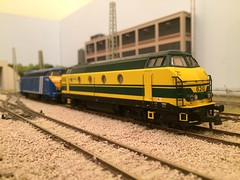 Roco SNCB Infrabel 6242+6255 (Neil Sutton Photography) Tags: dcc modelrailway modeltrain modelspoor belgianrailways roco sncb nmbs class 62 serie ho scale 187 6242 6255 sound