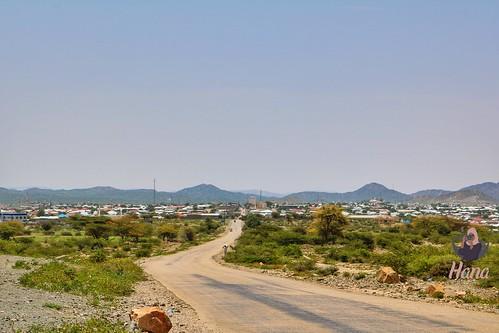 Road to Borama