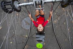 Cirque Amongus at World Maker Faire Maker Faire