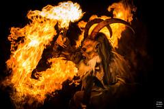 Fiery Demon (Tobias Neubert Photography) Tags: krampus demon rauhnacht brauchtum tradition feuer fire weiden weideninderoberpfalz weidenidopf bayern bavaria deutschland germany