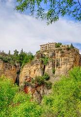 Beautiful Ronda Spain (linwujin) Tags: europe euro ronda spain green hotel paradore tree sky cloud fujifilm xt1 xf1655 nature landscape mountain