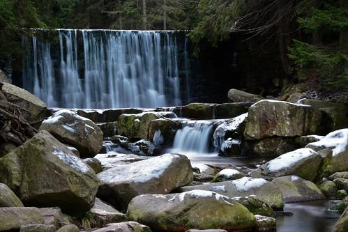 Lomnica waterfall (Karpacz)