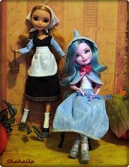 Cinderella and her Fairy Godmother (Shahaila) Tags: farrah