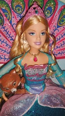 2007 Barbie as Princess Rosella in the Island Princess Doll (5) (Paul BarbieTemptation) Tags: barbie island princess rosella doll 2007 sagi pet movie musical red panda