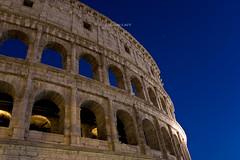 "Blue Hour Coliseo Romano (Colosseum or ""Flavian Amphitheatre"" copyright (CAUT) Tags: night noche nocturna nocturnal calle street roma rome vatican vaticano italia italy 2016 caut nikond610 nikon d610 travel viajar twilight crepusculo blue azul bluehour horaazul coliseoromano roman coliseo coliseum colosseum flavianamphitheatre"