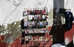 Puesto de cuentos. Mercado de Xilitla, S.L.P.