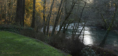 River, Late Afternoon in Winter (Joan Gray) Tags: northfork