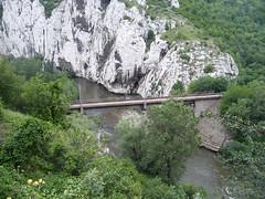 Vasútvonal az Iszker-völgyben