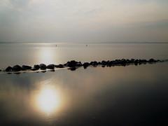 Steine (Wunderlich, Olga) Tags: steine wiekerbodden rügen insel deu mecklenburgvorpommern spiegelung sonne