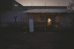 Yang Ming Welder; Tashkent, Uzbekistan (erik-peterson) Tags: 2017 erikpeterson sony a7ii tashkent uzbekistan welding welder weld light torch shippingcontainer container shipping construction working