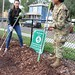 SHOWING UNITY AS A COMMUNITY 143d ESC PARTNERS WITH NFL TO KEEP 'THE CITY BEAUTIFUL'