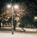 First snow Belgrade