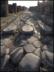 Crosswalk, Pompeian style , Ancient Rome, 1st century A.D. (mike catalonian) Tags: 1stcenturyad ancientrome pompeii