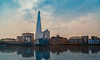The Shard (JennTurner) Tags: canon 6d london shard cityscape city river reflections architecture landscape buildings water photoshop