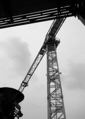 Rising overhead (siong.lewis) Tags: urbanphotography urban construction constructioncranes streetview