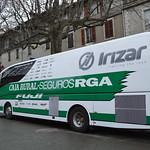 Bus équipe Caja Rural-Seguros RGA/Etoile de Bessèges 2017/5eme étape Alès-Ermitage Contre la montre thumbnail