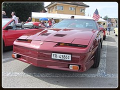 Pontiac Firebird Trans Am GTA, 1988 (v8dub) Tags: pontiac firebird trans am gta 1988 gm schweiz suisse switzerland fribourg freiburg american muscle p pkw pony voiture car wagen worldcars auto automobile automotive youngtimer old oldtimer oldcar klassik classic collector