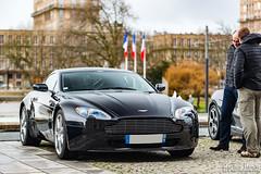 Aston Martin V8 Vantage (Emotion Auto Prestige) Tags: nissan 370z porsche cayman s 911 991 996 gt3 targa 4s lotus elise 111 111s ferrari 575 575m maranello mclaren 650s spider aston martin v8 vantage lexus isf mercedes slk 55 amg subaru impreza wrx sti lamborghini gallardo spyder line up 5 ans cars coffee normandie bentley continental gt opel astra opc