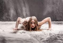 Photographer David j archibald (rebekkaweigand) Tags: dancer powder power photography girl one sit weird splits lega dance