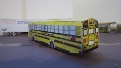 X268 - NASD Bus 73 (Etienne Luu) Tags: north allegheny school district thomas built buses saftliner saf t liner efx bus paper cardstock model