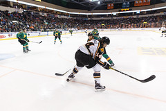 "Missouri Mavericks vs. Quad City Mallards, January 21, 2017, Silverstein Eye Centers Arena, Independence, Missouri.  Photo: John Howe / Howe Creative Photography • <a style=""font-size:0.8em;"" href=""http://www.flickr.com/photos/134016632@N02/32527846715/"" target=""_blank"">View on Flickr</a>"