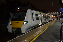 Thameslink 700006 (Will Swain) Tags: 2nd february 2017 train trains rail railway railways transport travel uk britain vehicle vehicles country england english greater london capital city south east tl tsgn goahead group cricklewood station thameslink 700006 class 700