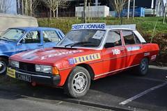 DSC_9995 (azu250) Tags: reims beurs oldtimer classic car show france peugeot 604 tour de